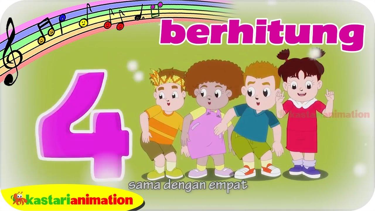 Lagu Anak Indonesia New Berhitung Bersama Diva | Kastari Animation Official