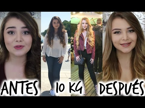 Adelgazar 10 kilos antes y despues del
