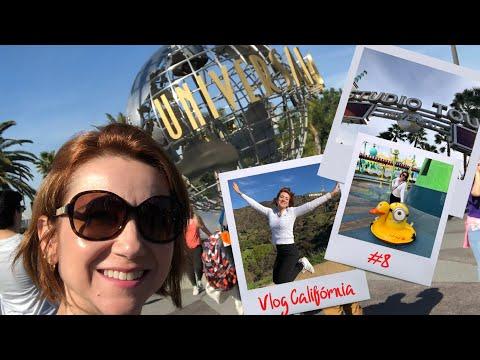 Vlog Califórnia #8 - Letreiro de Hollywood e Universal Studios
