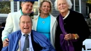 Буш-старший побывал на свадьбе лесбиянок