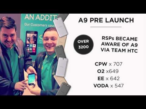 Team HTC A9 Launch