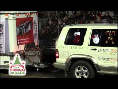 Spirit Radio - 2014 Bakersfield Christmas Parade