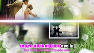 Beautiful in white karaoke viet sub