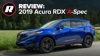 2019 Acura RDX A-Spec is a sharp-dressed luxury crossover (4K)