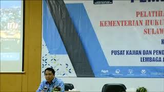 Pembukaan Latsar CPNS Kemenkumham Sulawesi Selatan Kejasama dengan PKP2A LAN