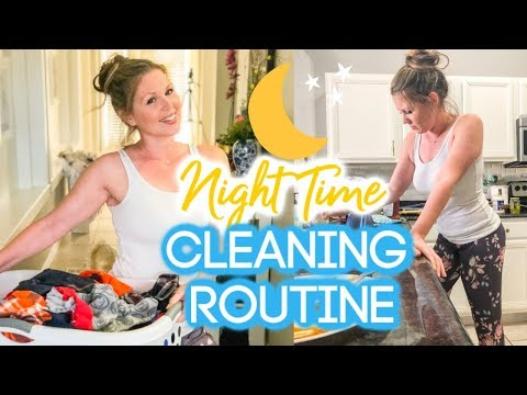 EXTREME CLEAN WITH ME 2019 | NIGHT TIME CLEANING ROUTINE | RELAXING POWER HOUR