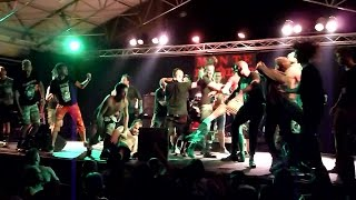 Chaos UK - No Security - 22nd Monteparadiso - Pula 02.08.2014