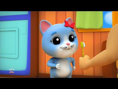 котенок котенок да мама | кошка песни для детей | Kitten Kitten Yes Mama | Nursery Rhymes
