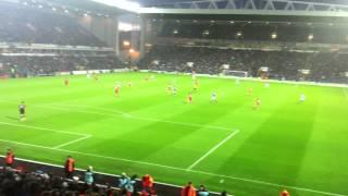 Blackburn vs Liverpool 2 - 3 - Maxi Goal 1 Celebration and Song
