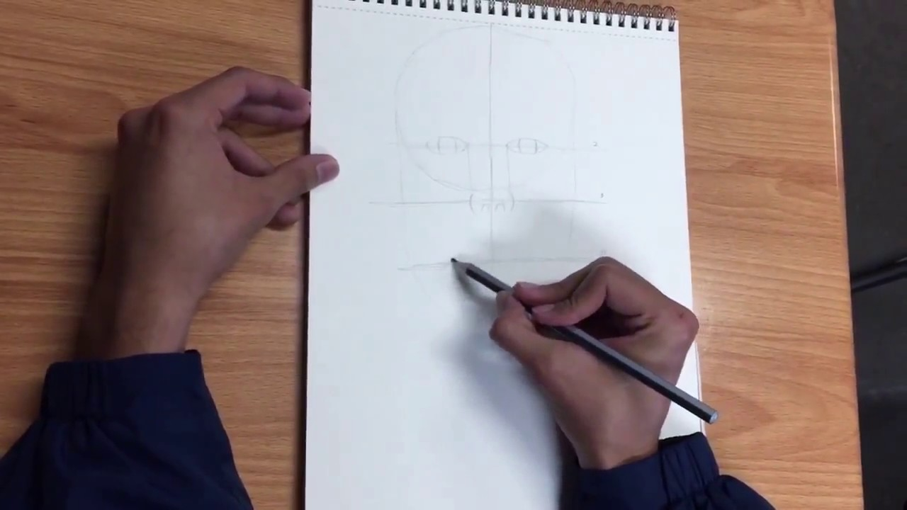 how to draw a human for beginners