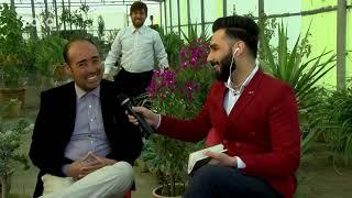 بامداد خوش - خیابان - دیدار سمیر صدیقی از فریدون کسی که گل می فروشد