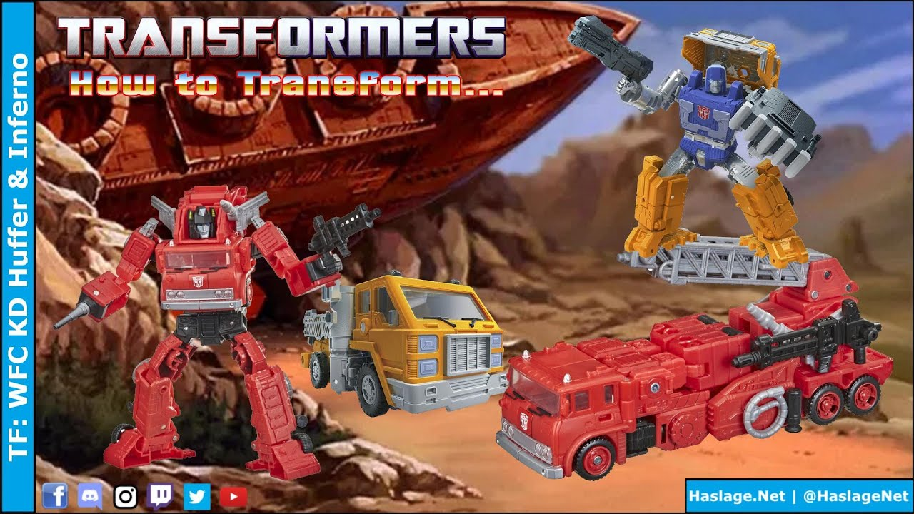 Transformers: WFC Kingdom Huffer & Inferno Review by HNE Games