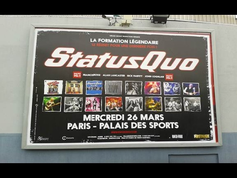 "STATUS QUO (Frantic Four) PARIS ""Palais des Sports"" March 26th 2014!!!Full Concert Multicam..."