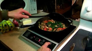 Review For Tiny House Kitchen And Kwh Test: Fagor Induction Cooktop