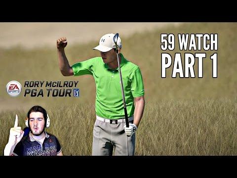 Rory McIlroy PGA Tour 59 Watch Part 1 - SPIETH/PGA WEST (Xbox One Gameplay)
