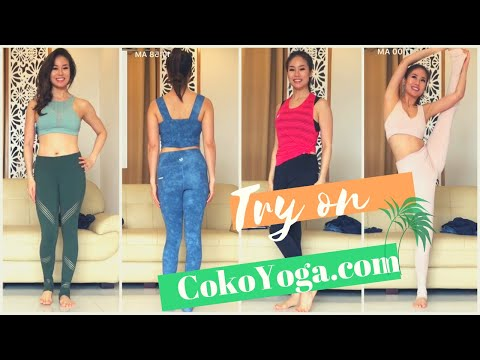 Thử quần áo tập CokoYoga.com  ♡ Try On Yoga clothes from Coko  ♡ YogaBySophie.com