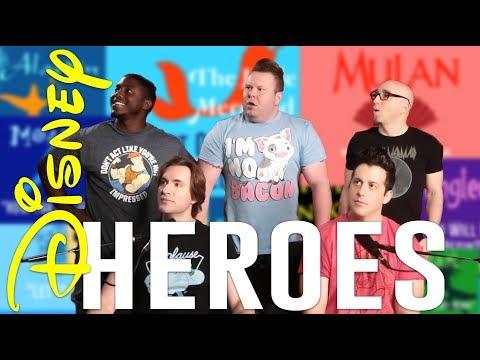 ACA TOP 10 - DISNEY HEROES Feat. J. None