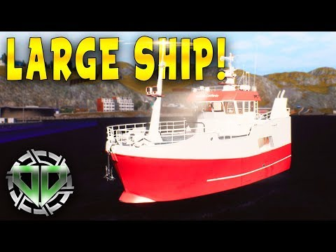 FISHING BARENTS SEA : LARGE SHIP & NEW EQUIPMENT! : FISHING BARENTS SEA GAMEPLAY