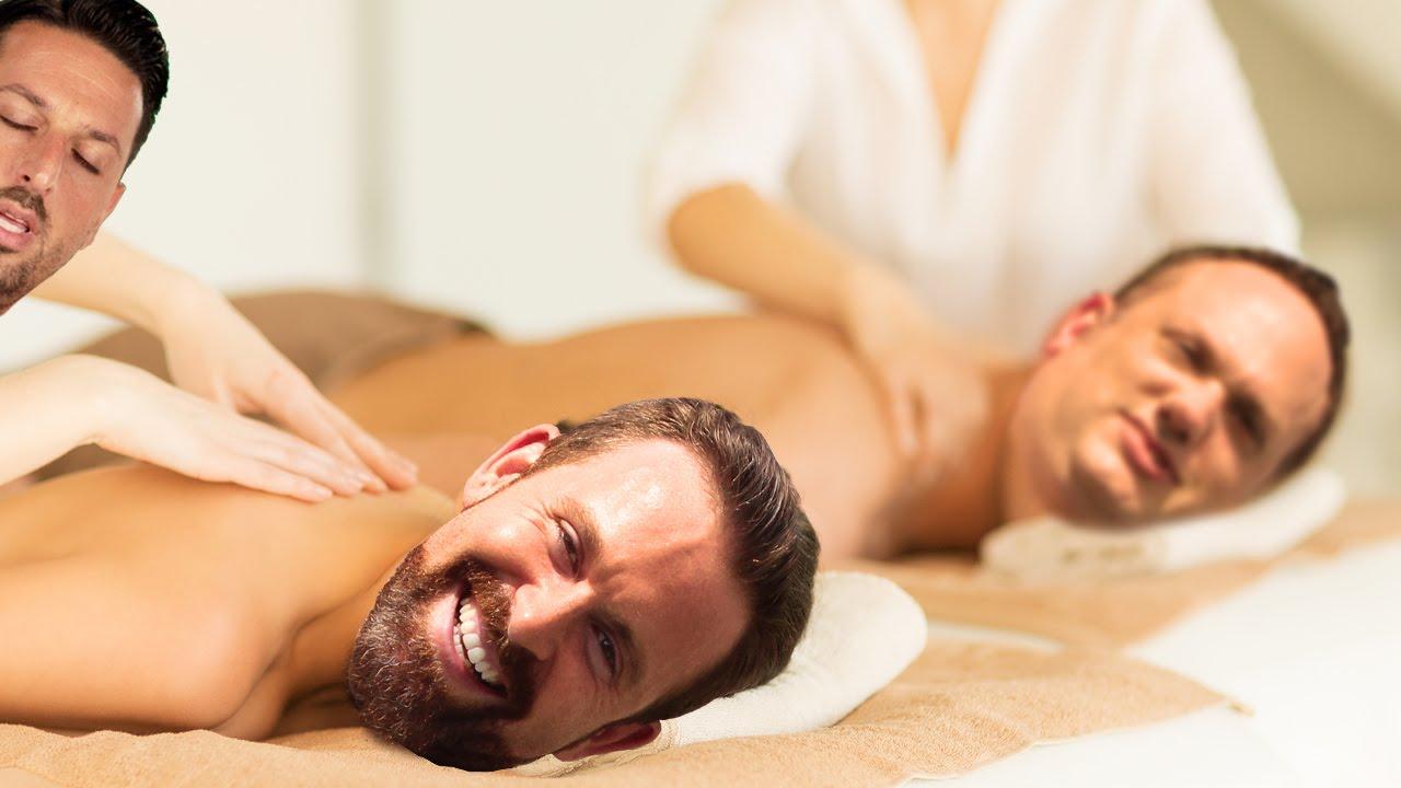 Dalibor Radnic Gets Massaged