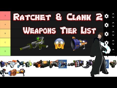 Ratchet Clank 2 Ranking All The Weapons Tier List Youtube