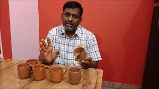 भूलने नहीं देंगे आपको भारत देश का इतिहास | मिट्टी से बना पवित्र कप | Clay cup beneficial for health