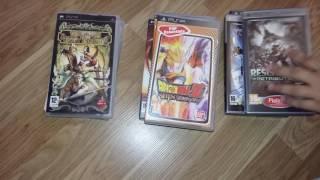 Обзор моих игры на PSP.