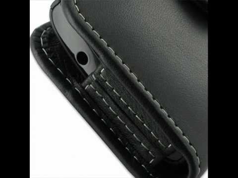 PDair   Leather Case for Acer Allegro M310 - Horizontal Pouch Type (Black)