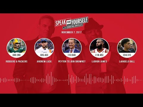 SPEAK FOR YOURSELF Audio Podcast (11.7.17) with Colin Cowherd, Jason Whitlock | SPEAK FOR YOURSELF