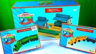 Thomas Wooden Railway - Unboxing Rare Toy Trains & Destinations Flying Scotsman