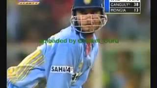 *Rare* India vs England 6th ODI 2002 Mumbai Part 5