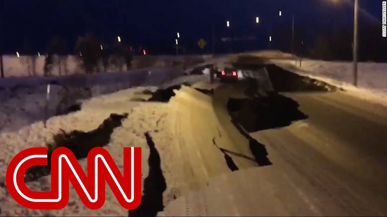 Scenes of chaos as 7.0 earthquake rocks Alaska