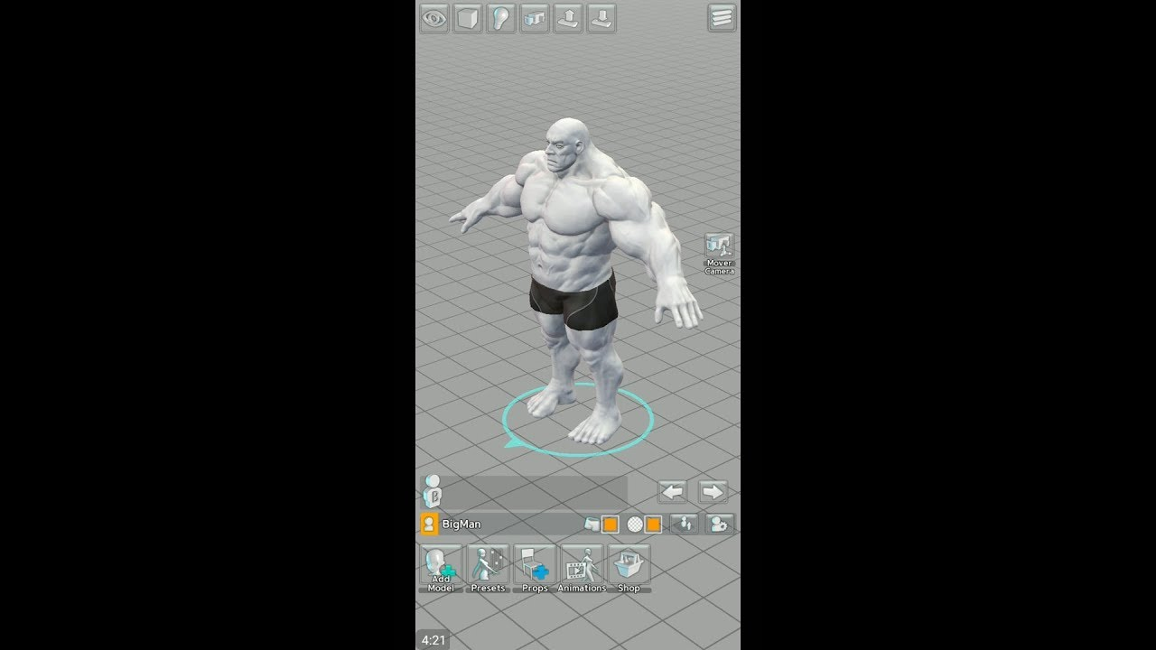 Easy Poser (by Madcat Games) - 3D graphical app for android and iOS