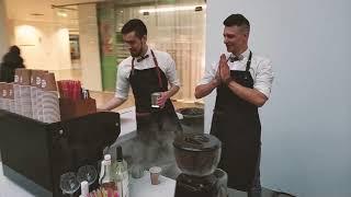 видео выездной кофе бар