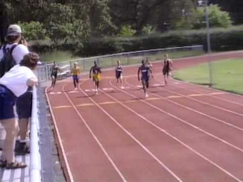 1995 redwood empire track boys 200m corey nelson steve neuman pudgy williams