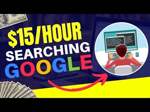 Make Money Searching on Google | Search Engine Evaluator Jobs Online
