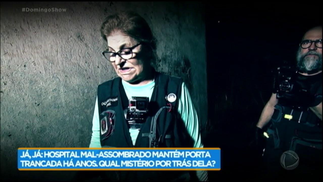 Caça-fantasmas ouvem choro de mulher em hospital mal-assombrado