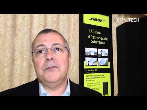 Bose lanza su sistema de sonido portátil F1 en Colombia
