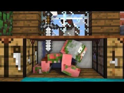 Школа Монстров: Вызов Игры Бабушки Ужасов - Minecraft Анимация