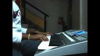 Thuppaki Theme Song- Jagdhish on A Mission on Keyboard