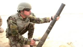 Afghan National Army live fire training with the M224 mortar system | AiirSource