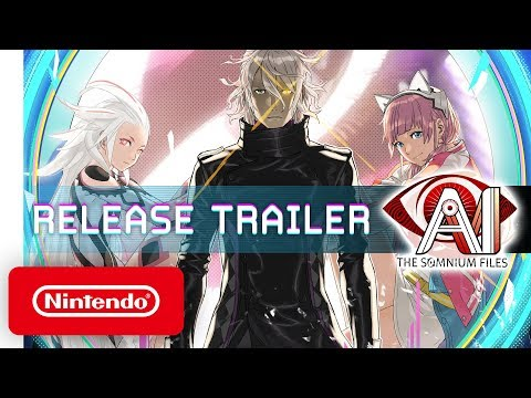 AI: THE SOMNIUM FILES - Launch Trailer - Nintendo Switch
