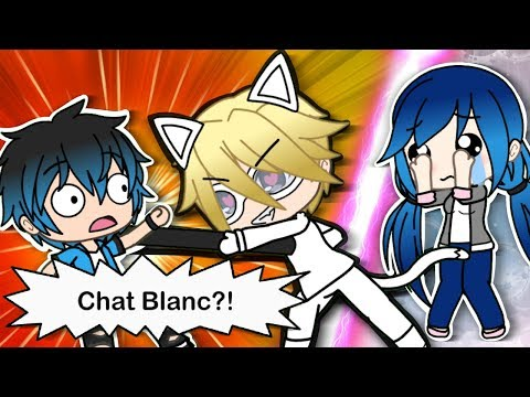 """""""CHAT BLANC"""" - MIRACULOUS LADYBUG AND CAT NOIR GACHAVERSE SERIES - SIGNS OF ADRIEN's CRUSH PART 7"""