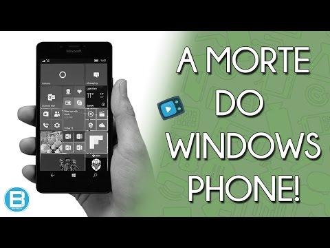 O FIM DO WINDOWS PHONE! A MICROSOFT JOGOU A TOALHA! E AGORA!?!?