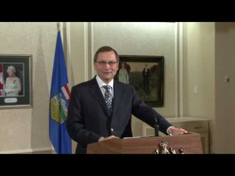 Government of Alberta Update