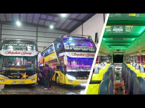Trip Report Medan - Takengon | The New Sempati Star Scania K-401 Interior | Broewnis Travel