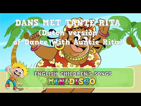 Dans Met Tante Rita | Kinderliedjes | TEKENFILM | Minidisco thumbnail