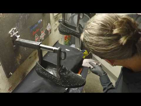 Billy Jean's not my shoes, suede and bedazzled loafers, ASMR