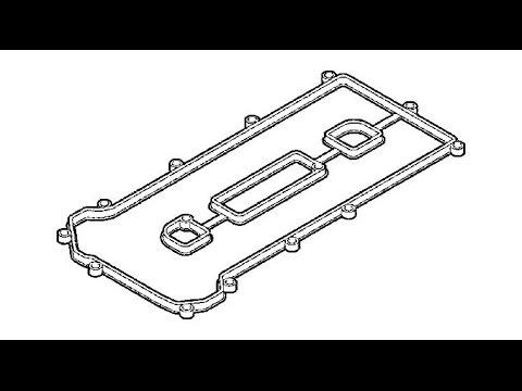 прокладка клапанной крышки / Ford Focus 2