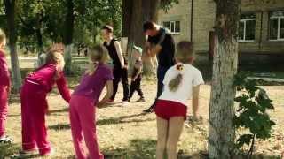 Олімпійська чемпіонка Ірина Мерлені провела урок фізкультури для школярів
