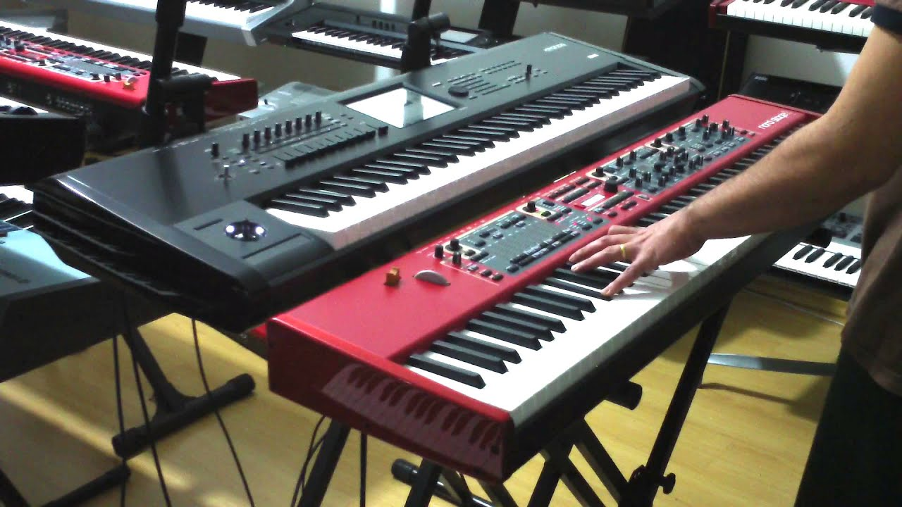 kronos 73 vs nord stage 2 ha88 demo na classic keyboards youtube. Black Bedroom Furniture Sets. Home Design Ideas